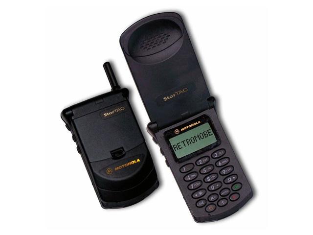Первая раскладушка Motorola StarTAC